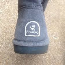womens paw boots size 11 61 bearpaw shoes s gray paw boots size 9m