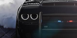 Dodge Challenger Lights - dodge challenger srt demon would make for a diabolical cop car
