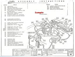 1970 chevrolet factory assembly instruction manual b series