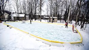 backyard rinks northland hockey enthusiasts build maintain home
