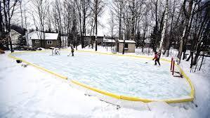 backyard rinks northland hockey enthusiasts build maintain home
