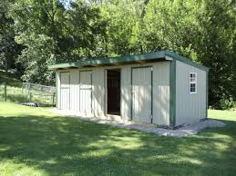 goat sheds mini barns and shed construction millersburg ohio