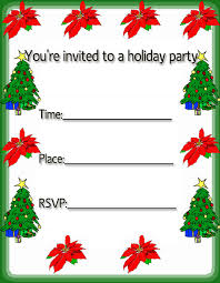 free christmas invitation cards free merry christmas holiday
