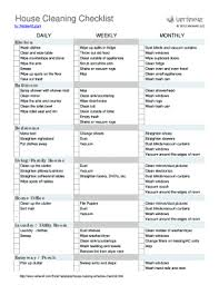 printable house cleaning schedule weekly cleaning schedule printable forms and templates fillable
