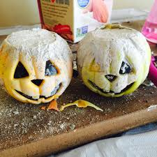 cement pumpkins simple halloween craft u2013 inspired natural and