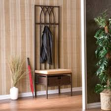 bench coats stunning metal entryway pictures with terrific sei