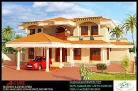 style house 2400 sqft 4 bedroom kerala style house 3d exterior design
