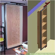 Diy Bookcase Door How To Build A Hidden Door Bookshelf 6 Steps With Pictures