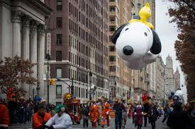 snoopy highlights from the macy s thanksgiving day parade 2014