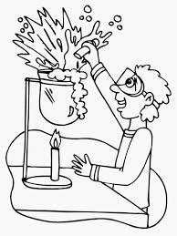 lab equipment coloring pages