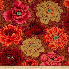 kaffe fassett collective brocade peony autumn discount designer zoom kaffe fassett collective brocade peony autumn