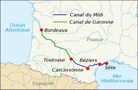 canap駸 atlas 南法 土魯斯 南法美麗水道canal du midi 米迪運河 南運河 諾爸