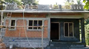 low cost house under construction ottapalam building designers