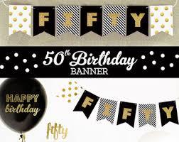 50th birthday party ideas 50th birthday ideas etsy
