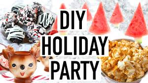 diy holiday party diy christmas party 2016 youtube