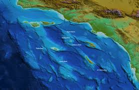 San Diego California Map by Earthguide Online Classroom Surface Relief Map San Diego