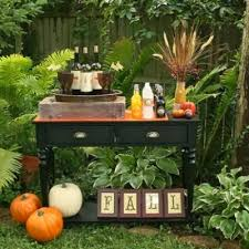 fall decorations ideas for outdoors fall garden party ideas fall