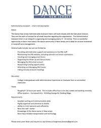 sle resume administrative assistant hospital salary ranges job listings dance nj