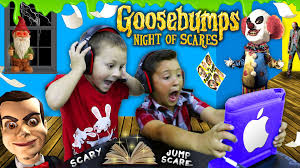 night of jump scares mike u0026 chase play goosebumps n o s ios