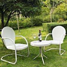 White Patio Dining Sets by Creativeworks Home Decor Patio Furniture Sets