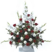 White Flower Arrangements Order Flowers U0026 Gifts Online Duggan U0027s Serra Funeral Home