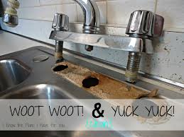 i know the plans i have for you installing a new kitchen faucet