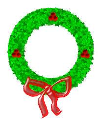 free christmas wreath clipart public domain clip art 6 clipartix