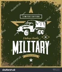 vintage jeep logo vintage military truck vector logo isolated stock vector 728543527