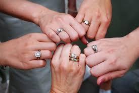 how to wear wedding ring set wedding rings proper way to wear wedding ring set traditional