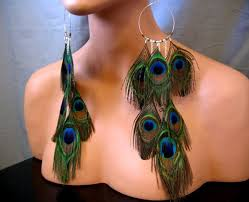 one side feather earring 36 best feather earrings images on feather earrings