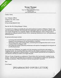 cover letter pharmacist cover letter sle resume genius