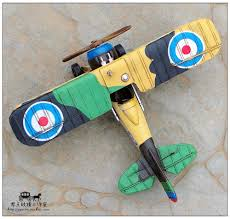 iron aircraft retro vintage ornaments a uk fighter fight a war