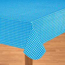 amazon x blue gingham tablecloth roll party tableware table covers
