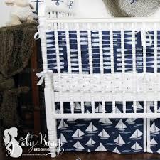blue baby bedding sets designer custom nursery decor