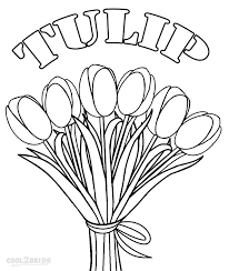 plant flower coloring pages cool2bkids