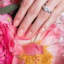 bridal nail polish and bouquet ideas popsugar beauty