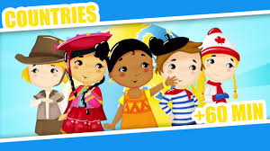 countries of the world kid song 60mins nursery rhymes for