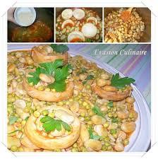 cuisine algeroise tbikha algéroise fèves petits pois et artichauts