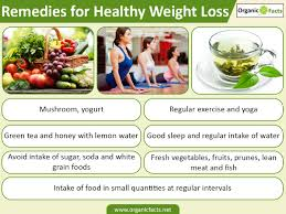 24 amazing home remedies for weight loss organic facts