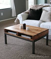 Best Wood For Making A Coffee Table by Best 25 Wood Pallet Coffee Table Ideas On Pinterest Homemade