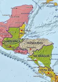 Map De Central America by Honduras Real Expeditions Giant Kites In Guatemala