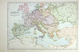 Map Of Time Historical Map Of Europe Time Of Napoleon Photo From Atlas
