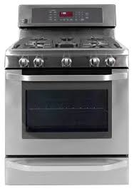 lg lsrg309st freestanding gas range review reviewed com ovens