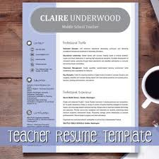 resume templates for teachers 46 best resumes images on resume