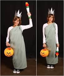 Statue Liberty Halloween Costume Statue Liberty Costume Quest Cosplay Panatthedisco