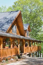 browse interior and exterior log home photos of honest abe log