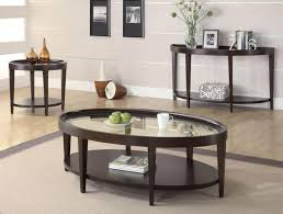 oval glass coffee table contemporary u2014 home design and decor
