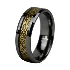lord of the rings wedding band 2017 mens celtic wedding ring 8mm tungsten carbide wedding bands