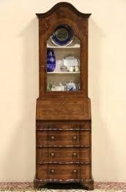 desk antique drop front secretary desk with hutch antique corner