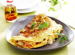 cuisiner tomates omelette au thon et tomates maggi